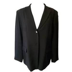 Jones New York Plus Size Black Blazer